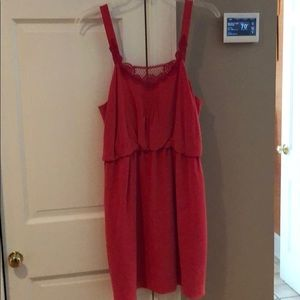 Pink Tibi dress